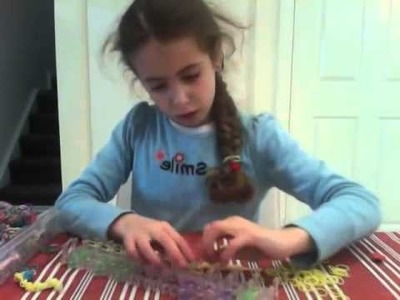 Loom bands cat collar by Ivana