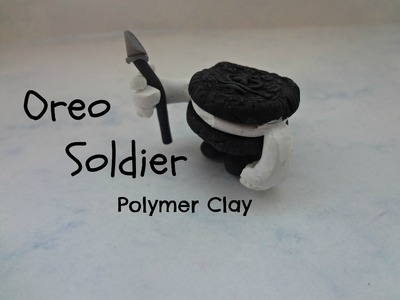Oreo Soldier Tutorial From Wreck it Ralph (polymer clay tutorial)