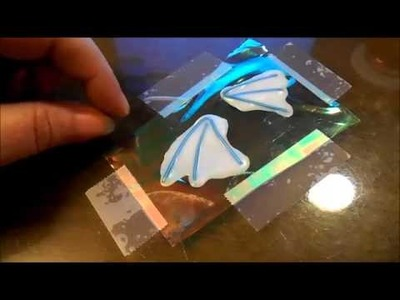 Polymer clay TLC Wings tutorial