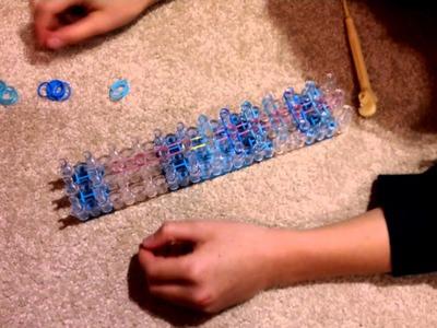 Rainbow loom hula skirt bracelet!!!