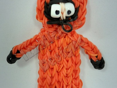 Rainbow Loom Kenny (from South Park) Action Figure.Charm - Gomitas