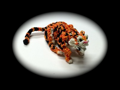 Rainbow Loom Tiger Adult (Part 4.5)