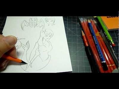 Rhodia Pencil on dotPad paper test