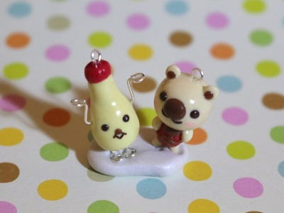 [San-X] Shop Manager Bear + Mayo Friend Polymer Clay Tutorial