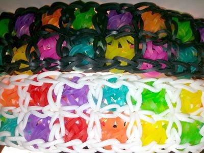 Waffle Bracelet Tutorial by feelinspiffy (Rainbow Loom)
