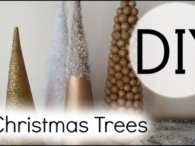 01. DIY Christmas Trees