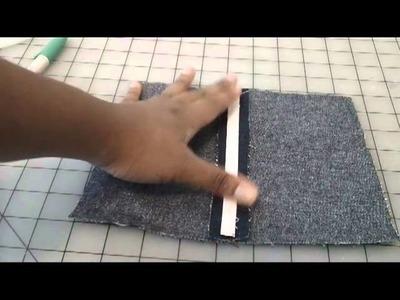2 ways to sew in boning