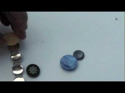 5 Minute Button Bracelet DIY