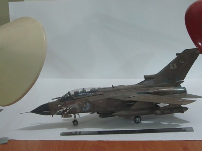 Amazing paper model of PANAVIA TORNADO GR-1 airplane