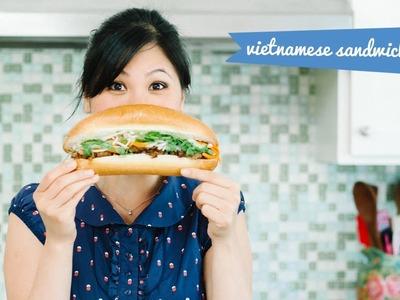 Banh Mi Recipe Vietnamese Sandwich Street Food - HoneysuckleCatering