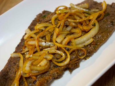 Bistec Encebollado - Cuban Steak and Onions - Cooked by Julie Episode 119