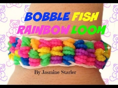 BOBBLE FISH Rainbow Loom Tutorial