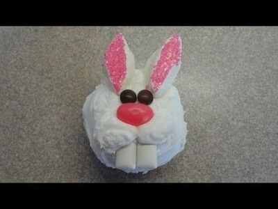 Decorating Cupcakes: #36 Bunny