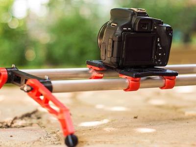 DIY 3D printed Camera Slider - DIY Dudes