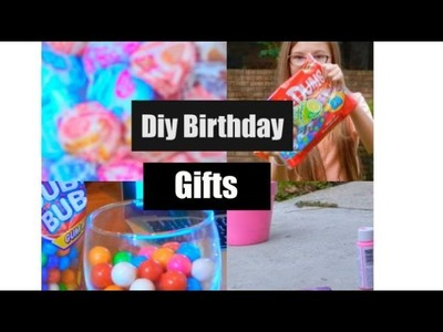 Diy Birthday Gifts!