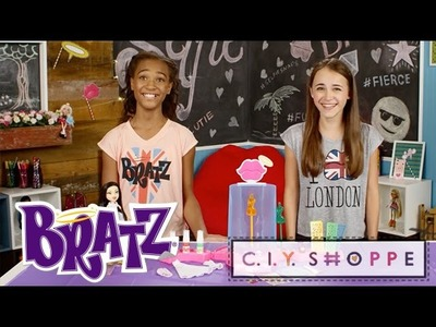 DIY @ Bratz C.I.Y. Shoppe | Create-It-Yourself Fashion Playset w. Alani and Heidi | Bratz