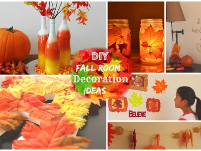 DIY: Fall Room Decoration Ideas 2014