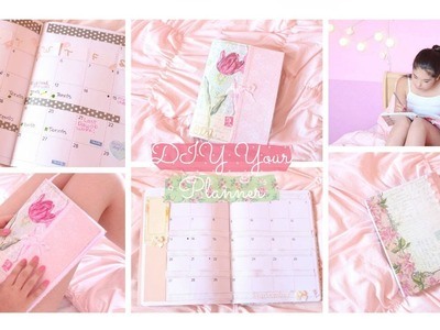 DIY Girly Planner. Plan with me ♡