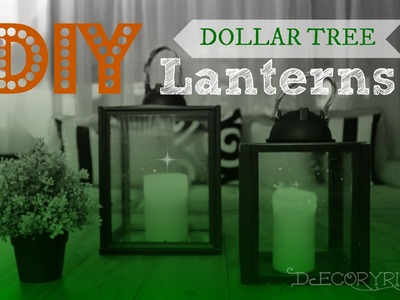 DIY Glass Lanterns!
