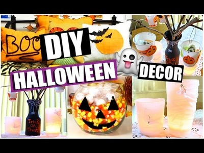 DIY Halloween DECOR! Collab with KeepUpWithLiv | STYLOWEEN