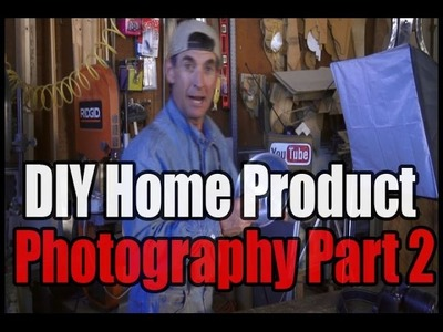 DIY Home Product Photography Part 2.- Budget Studio Lighting