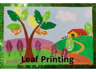 DIY - How to do Leaf Printing
