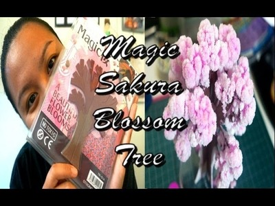 DIY Magic Sakura Cherry Blossom Tree [DEMO]