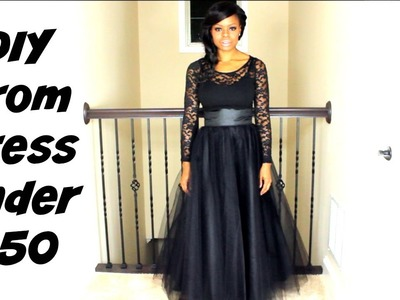 DIY Prom Dress for under $50 | Prom Series | MariaAntoinetteTV