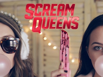 DIY SCREAM QUEENS COSTUMES + PINK CHAMPAGNE CUPCAKES