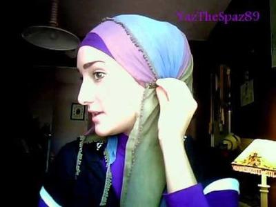 Hijab Tutorial #8 (Side Ruffle Hijab Look)