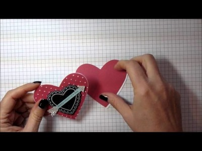 How to Make a Heart-Shaped Valentine Card