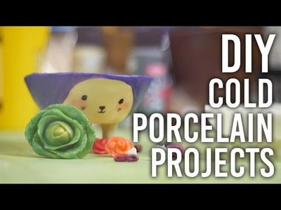 How to Make Cold Porcelain Projects : DIY