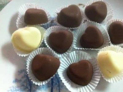 How to make Heart Chocolate