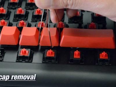 How to remove Cherry MX keycaps
