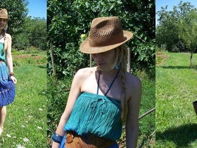 How to Wear: Maxi Skirt as a Dress!