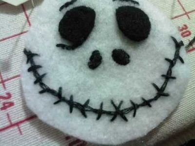 Jack Skellington Mini-Plush Tutorial
