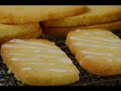 Lemon Cookies Recipe Demonstration - Joyofbaking.com