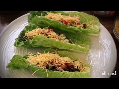 Low-Carb Recipes - How to Make Lettuce Leaf Tacos