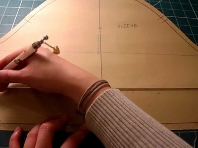Pattern Cutting Tutorial: How To Adjust Sleeve Length