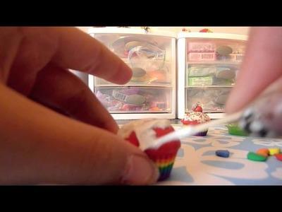 Rainbow Cupcake Tutorial :)