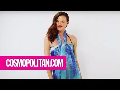 Top 12 Sexiest Ways to Tie a Sarong | Cosmopolitan