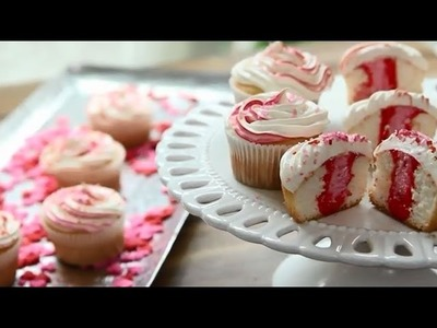 Valentine's Recipes - How to Make Sweetheart Cupcakes