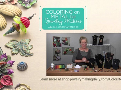 Coloring Metal for Jewelry Makers Promo