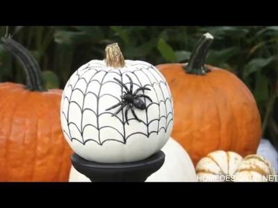 Creative DIY No Carve Pumpkin Designs for Halloween