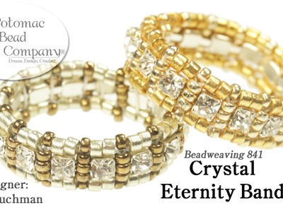 Crystal Eternity Band (Ring)
