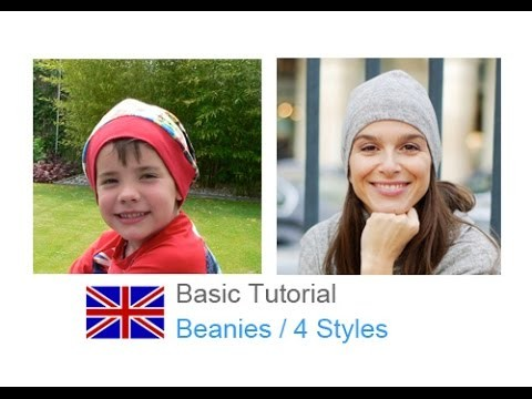 DIY basic sewing tutorial Beanie cap. loop scarf. FREE PATTERN ONLINE!!