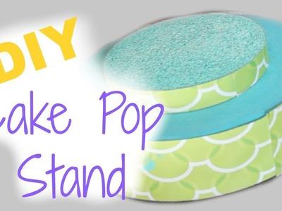 DIY BIRTHDAY BASH: Cake Pop Stand ♡ || MickIsAMom