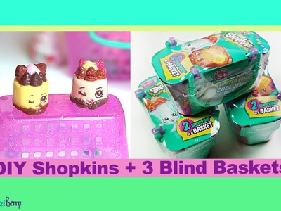 DIY Shopkins plus 3 blind baskets custom shopkin season 3