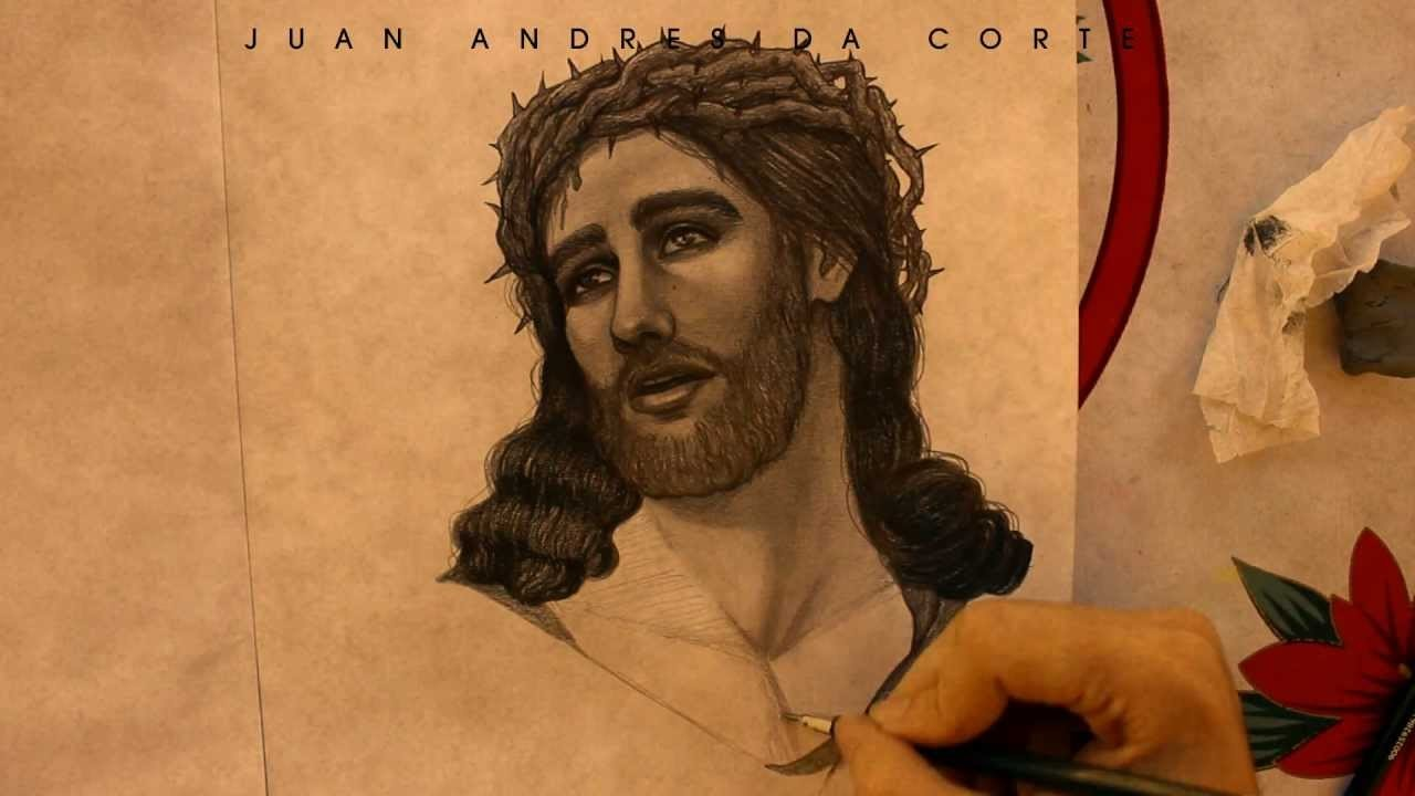 Drawing Jesus Christ By Juan Andres