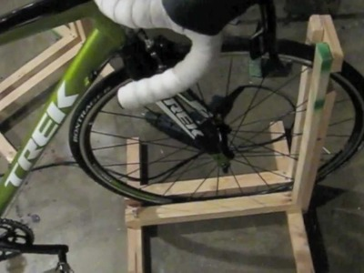 How to Build a Bike Stand (make a Bike Rack) CHEAP! $2-$5